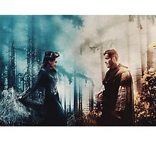 Outlaw Queen - The fire to her ice Photographic Print