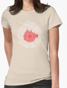 SUN-STONE Womens Fitted T-Shirt