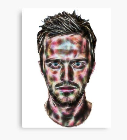 Abstract Jesse Pinkman Canvas Print