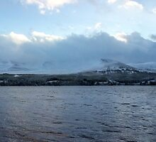 Loch Morlich Panorama by Titch-IX