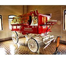 BUD WAGON Photographic Print