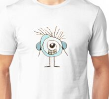 Cute Weird Caricature Illustration Unisex T-Shirt