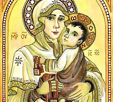 Our Lady of Mount Carmel by agianna