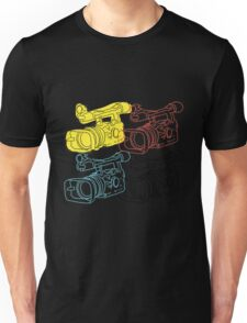 Primary Camera Grid Unisex T-Shirt