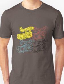 Primary Camera Grid Unisex T-Shirt