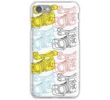 Primary Camera Grid iPhone Case/Skin