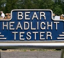 Bear Headlight Tester by ericseyes