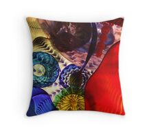 glass ceiling Throw Pillow
