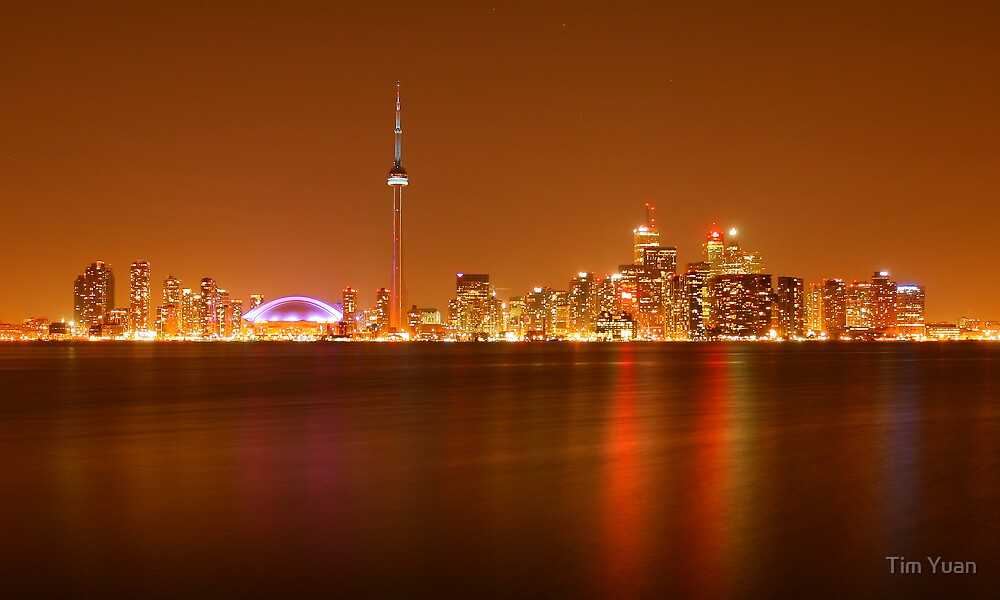 Downtown Toronto by Tim Yuan