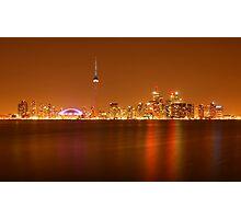 Downtown Toronto Photographic Print