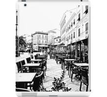 Island La Maddalena: square and building iPad Case/Skin