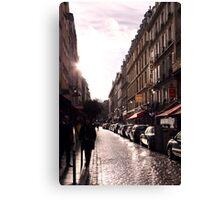 Rue Saint Severin Canvas Print