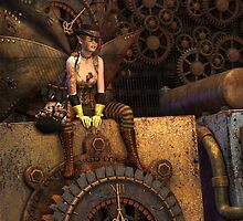 Steampunk Fairy by twylightart