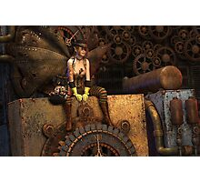 Steampunk Fairy Photographic Print