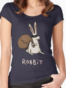 Robbit Women's Fitted Scoop T-Shirt