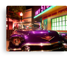 Elvis's pimp mobile in Cholo Canvas Print
