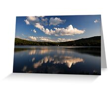 Dusk on Androscoggin River Greeting Card