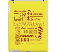 Gryffindor iPad Case/Skin