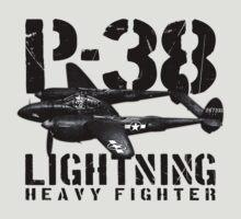 P-38 Lightning by deathdagger