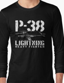 P-38 Lightning Long Sleeve T-Shirt