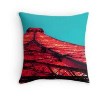 Eiffel Tower #2 Throw Pillow