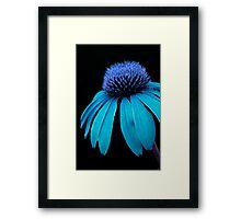 Blue Power Framed Print