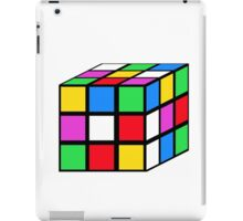 rubik - the cube iPad Case/Skin