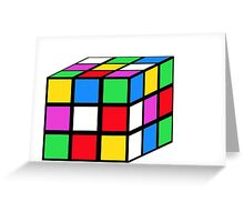 rubik - the cube Greeting Card