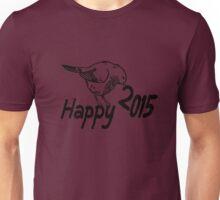 Happy 2015 Bird Unisex T-Shirt