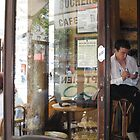 My view from just inside Le Bucheron by Victor Barker