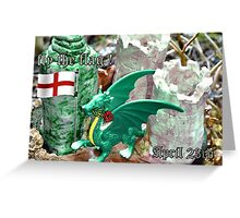 Fly the flag Greeting Card