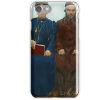 Americana - The yearly family portrait iPhone Case/Skin
