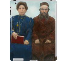 Americana - The yearly family portrait iPad Case/Skin
