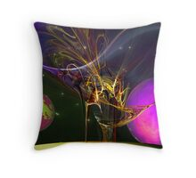 Spacey-Abstract: ?????? Throw Pillow