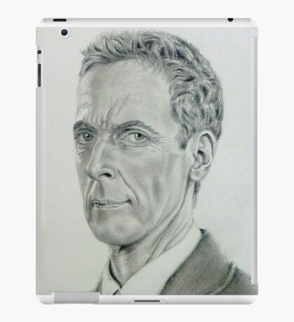 Peter Capaldi the twelfth Doctor iPad Case/Skin