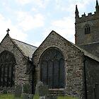 Lansallos Church by Lucan  Netley (LDN Photoart)