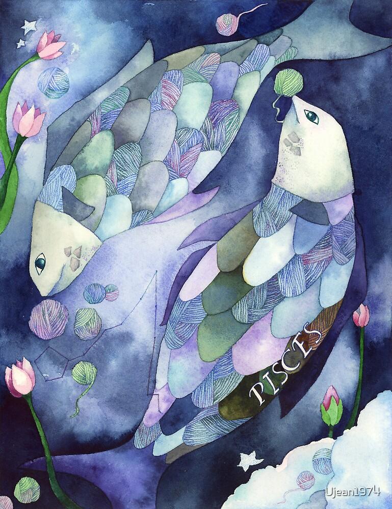 Pisces: Yarn Zodiac by Ujean1974