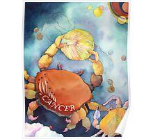 Cancer: Yarn Zodiac Poster