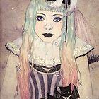 Pastel Goth Princess by Jasmin Garcia-Verdin