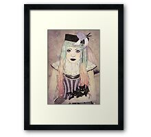 Pastel Goth Princess Framed Print