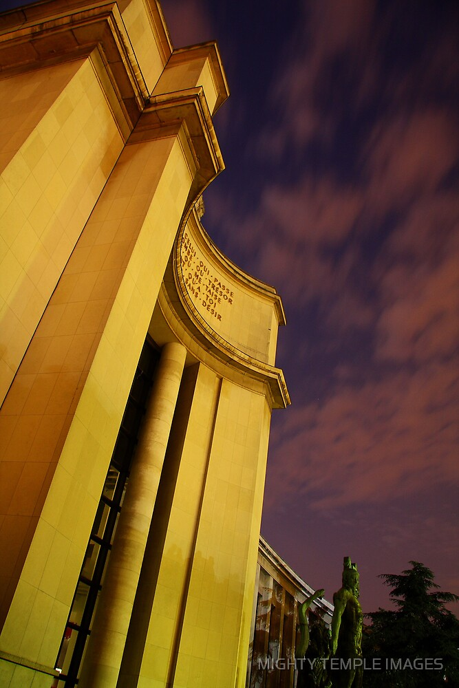 PALAIS DE CHAILLOT by MIGHTY TEMPLE IMAGES
