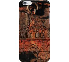 Graving Dock 1867 iPhone Case/Skin
