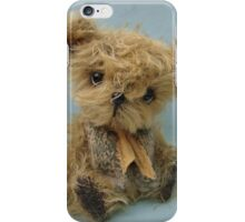Oliver - Handmade bears from Teddy Bear Orphans iPhone Case/Skin