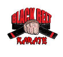 Black Belt Photographic Print