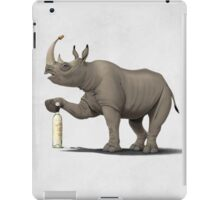 Cork it, Dürer! (Wordless) iPad Case/Skin