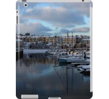 Snow Sails Here iPad Case/Skin