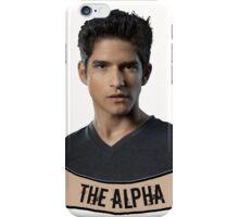 The Alpha. iPhone Case/Skin