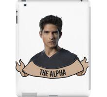The Alpha. iPad Case/Skin
