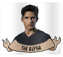 The Alpha. Poster