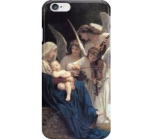 Angels with Jesus and Mary iPhone Case/Skin